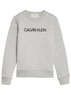 calvin-klein-jeans-institutional-boys-logo-sweat-shirt-light-grey