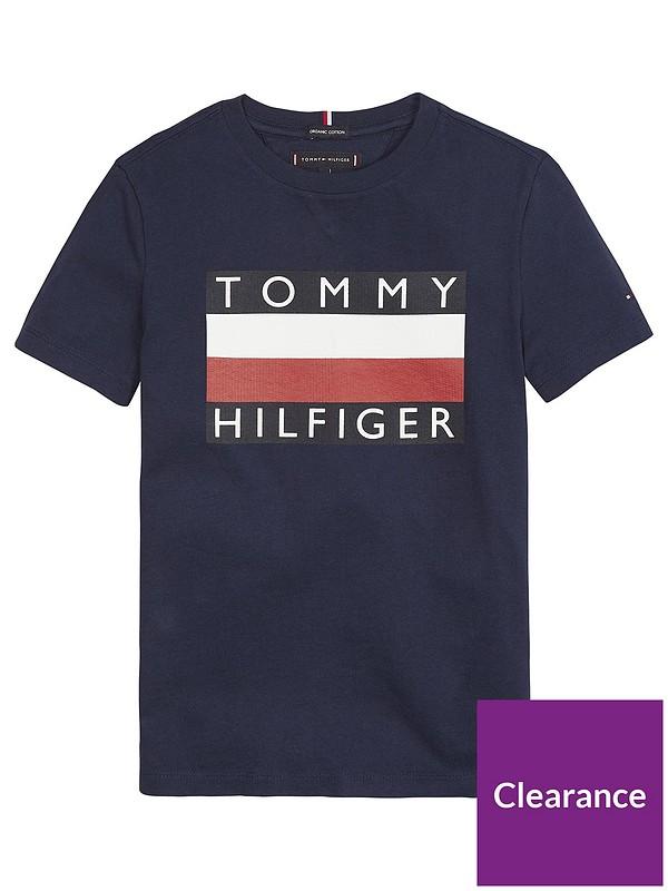 Tommy Hilfiger Boys Flag T-Shirt