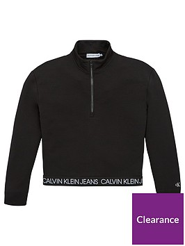 calvin-klein-jeans-girls-logo-waistband-zip-through-jacket-black