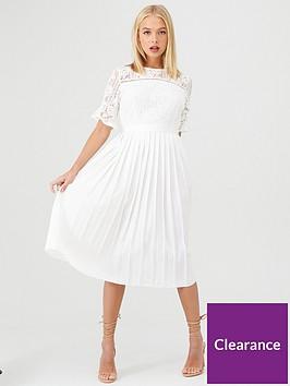 little-mistress-floral-lace-pleated-midi-dress-white