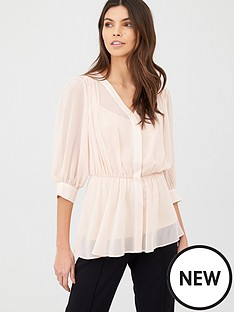v-by-very-georgette-peplum-top-blush