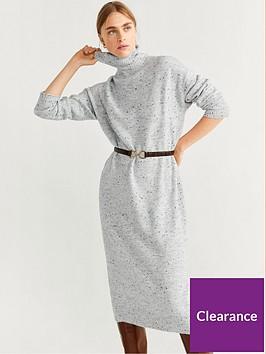 mango-midi-knitted-dress