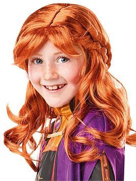 Disney Frozen Disney Frozen Frozen 2 Child Anna Wig Picture