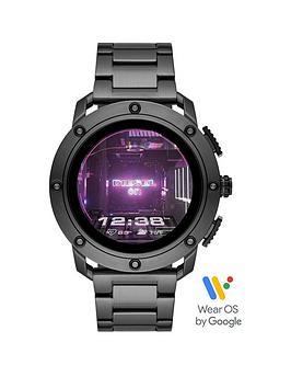 diesel-diesel-gen-5-full-display-gunmetal-grey-ip-stainless-steel-bracelet-smart-watch
