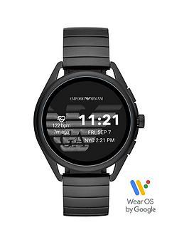 emporio-armani-emporio-armani-gen-5-full-display-black-ip-stainless-steel-bracelet-smart-watch