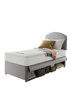 silentnight-silentnight-maxi-store-divan-bed-set-with-kids-sprung-mattress-and-headboard-grey