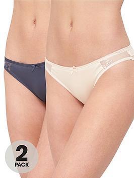 Dorina Dorina Zara Curves 2-Pack Briefs - Grey/Pink Picture