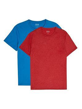 burton-menswear-london-burton-menswear-london-2-pack-t-shirts-deep-waterred