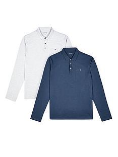 burton-menswear-london-2pk-long-sleeve-polo
