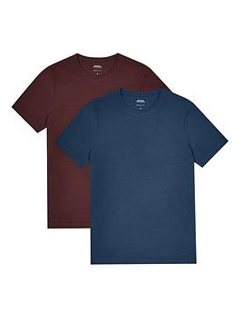 burton-menswear-london-2pk-tees-navyburgundy