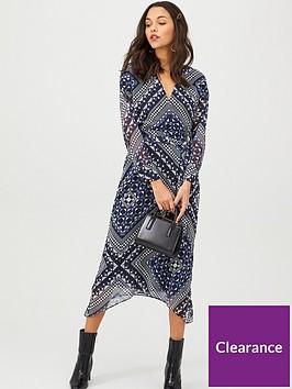 v-by-very-kimono-sleeve-wrap-midi-dress-geo-print