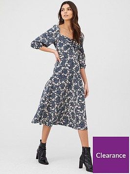 v-by-very-floral-puff-sleeve-midi-dress-print