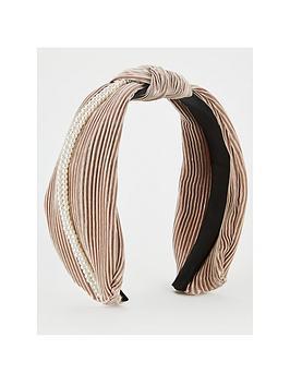 michelle-keegan-pearl-knot-hairband-pink
