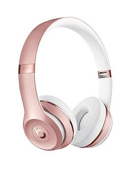Beats by Dr Dre Beats By Dr Dre Solo 3 Wireless Headphones - Rose Gold Picture