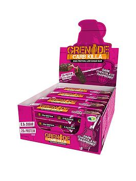 GRENADE Grenade Grenade Carb Killa Dark Chocolate Raspberry Protein Bar  ... Picture