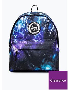 hype-boys-lightening-backpack-blue