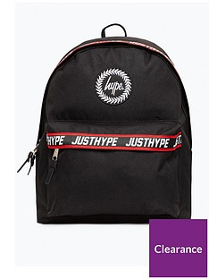 hype-boys-taped-backpack-black