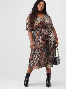 v-by-very-curve-pleated-chiffon-midi-dress-print