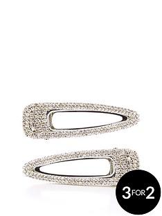 michelle-keegan-2-pack-diamante-hair-clips-silver