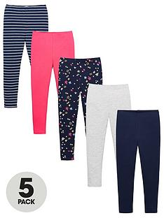v-by-very-girls-5-pack-leggings-multi