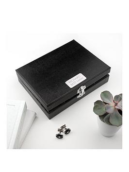 Very  Personalised 12 Compartment Cufflink Box