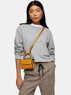 topshop-cropped-sweatshirt-grey
