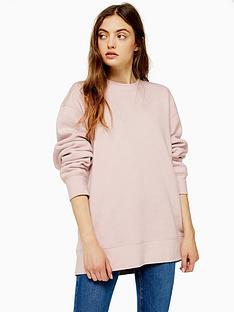 topshop-boyfriend-jersey-sweater-pink