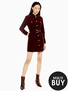 topshop-topshop-corduroy-button-mini-dress-burgundy