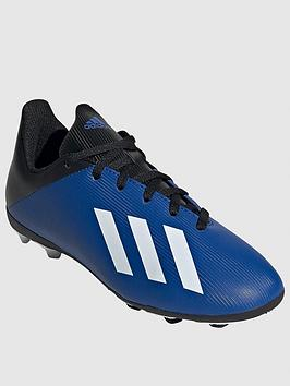 Adidas   Junior X 19.4 Firm Ground Football Boot - Blue