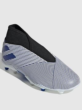 Adidas    Junior Nemeziz Laceless 19.3 Firm Ground Football Boot