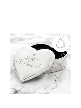 the-love-silver-collection-silver-open-heart-necklace-with-personalised-wedding-role-heart-trinket-box