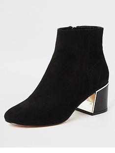 river-island-river-island-wide-fit-faux-suede-block-heel-boots-black