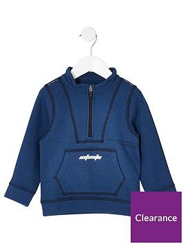 river-island-mini-mini-boys-ri-active-funnel-sweatshirt-blue