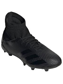 Adidas   Junior Predator 20.3 Firm Ground Football Boot - Black