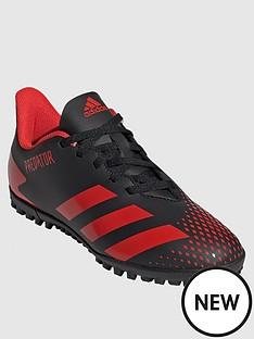 adidas-junior-predator-194-astro-turf-football-boots-redblack