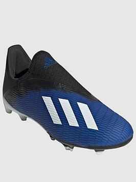 Adidas    Junior X Laceless 19.3 Firm Ground Football Boot