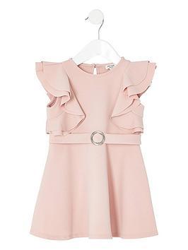 river-island-mini-mini-girls-ruffle-belted-dress-pink