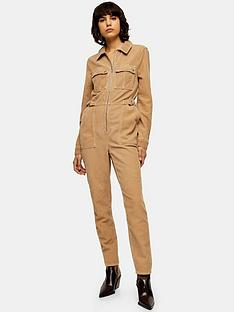 topshop-cord-ring-boiler-suit-sand