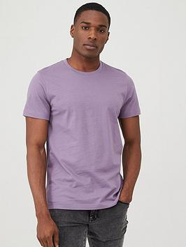 V by Very V By Very Crew Neck T-Shirt - Purple Picture