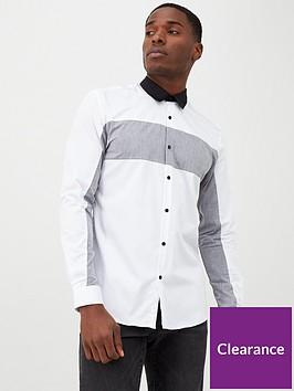 river-island-white-chevron-block-print-slim-fit-shirt