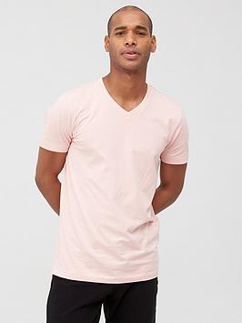 V by Very V By Very V Neck T-Shirt - Pink Picture