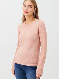 oasis-hotfix-star-ombre-jumper-pink