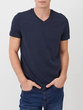 V by Very V By Very Essentials V Neck T-Shirt - Navy Picture