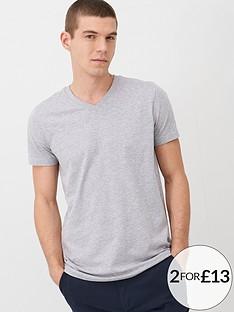 v-by-very-essentials-v-neck-t-shirt-grey