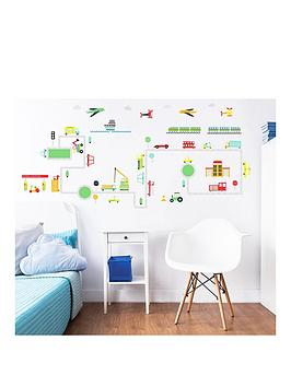 Walltastic Walltastic Transport Wall Stickers Picture