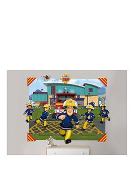Walltastic Walltastic Fireman Sam 3D Pop-Out Wall Mural Picture