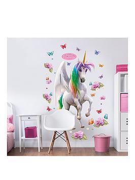 Walltastic Walltastic Magical Unicorn Large Character Sticker Picture