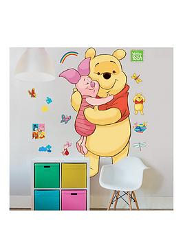 Walltastic Walltastic Disney Winnie The Pooh Large Character Sticker Sheet Picture