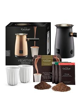 Hotel Chocolat   Velvetiser - Grey With 10 Hot Chocolates