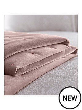 karen-millen-velvet-quilted-throw--blush